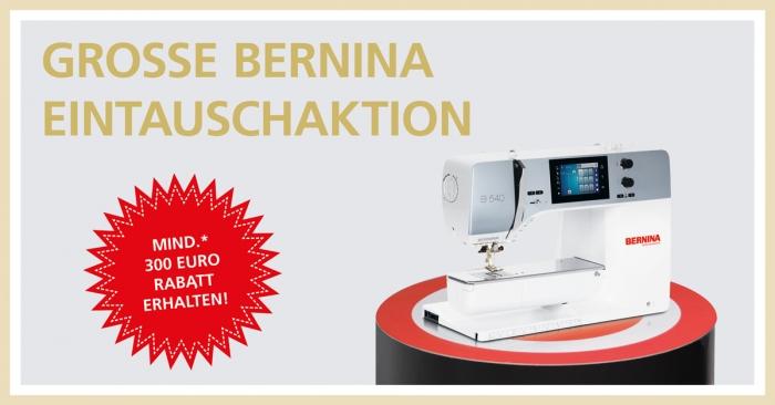 BERNINA-Eintausch Aktion